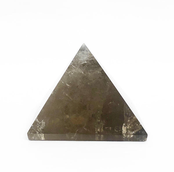 SMOKY QUARTZ CRYSTAL PYRAMIDE 3
