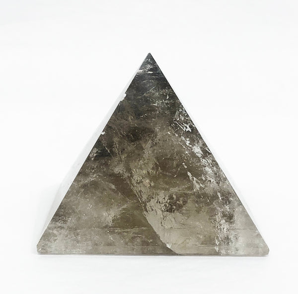 SMOKY QUARTZ CRYSTAL PYRAMIDE 4