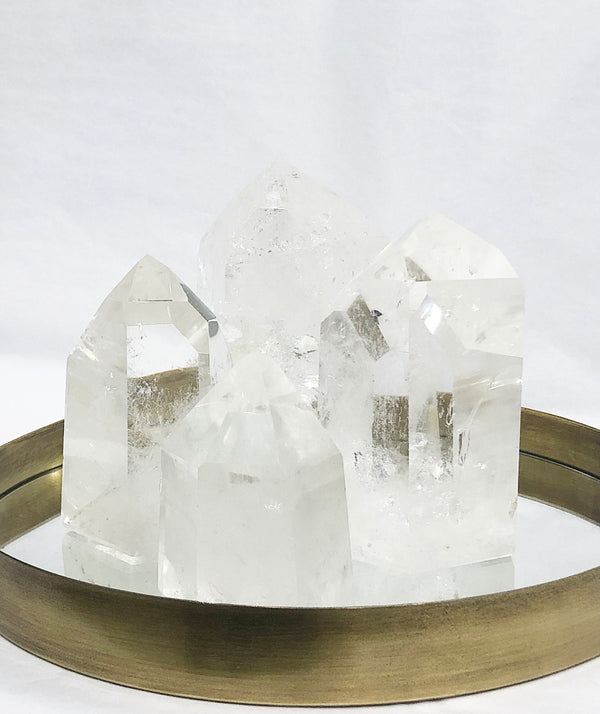 ROCK QUARTZ CRYSTAL POINT 4