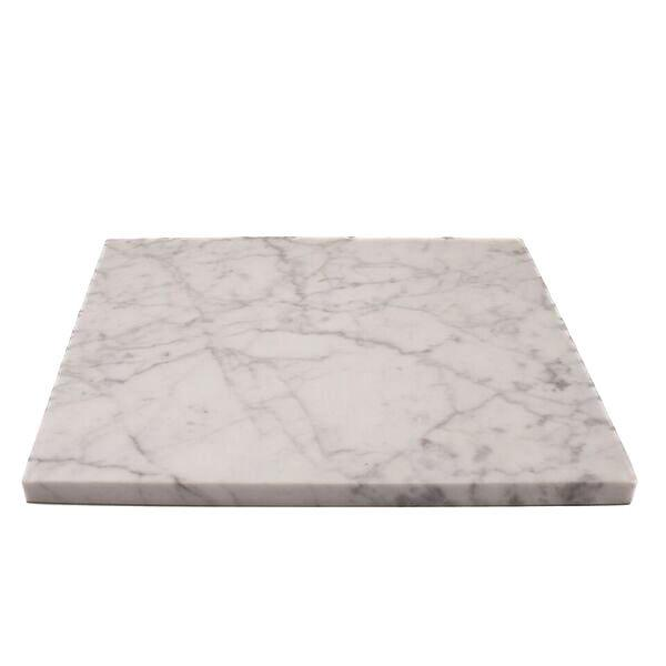 MARBLE PLATE L WHITE