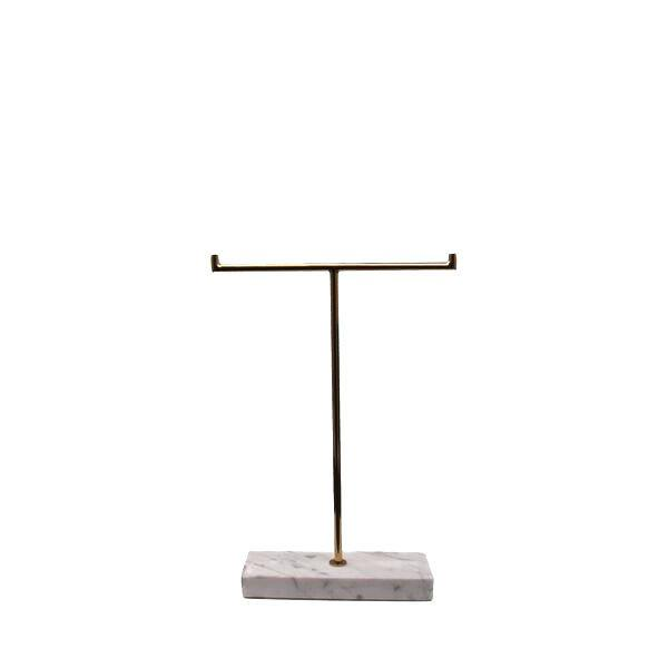 MARBLE STAND LOW WHITE