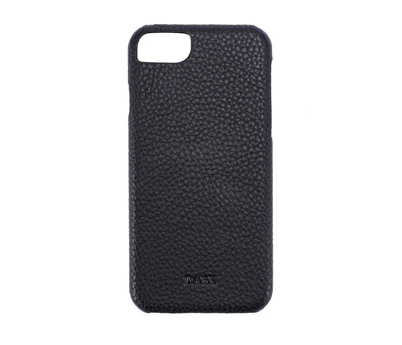 LEATHER IPHONE COVER BLACK W. GUN