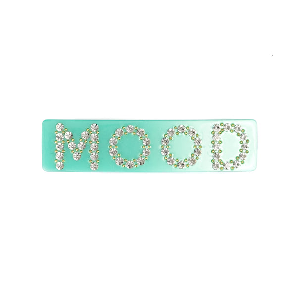 MOOD HAIR CLIP LARGE GREEN