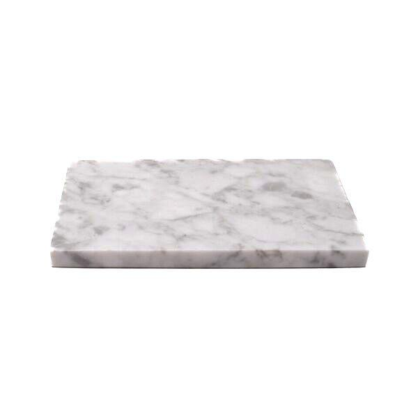 MARBLE PLATE S WHITE