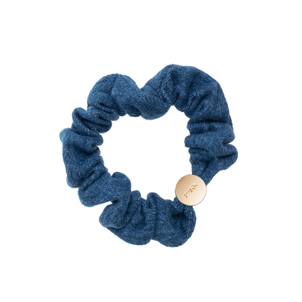 DENIM MINI SCRUNCHIE DENIM