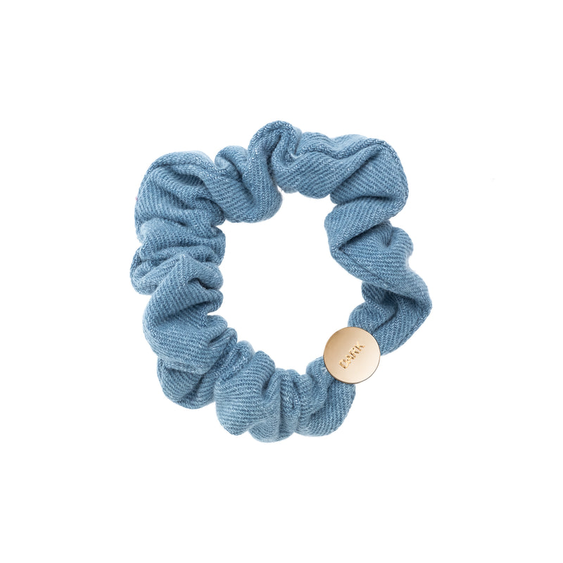 DENIM MINI SCRUNCHIE LIGHT DENIM