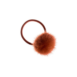 MINK HAIR POM COPPER