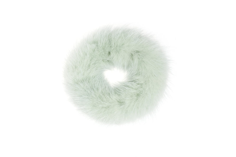 MINK HAIR TIE COOL MINT