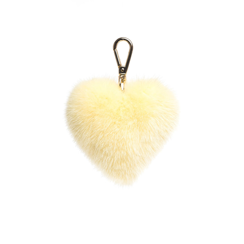 MINK HEART PALE YELLOW