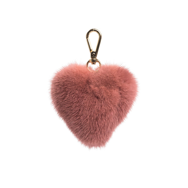 MINK HEART ANTIQUE ROSE
