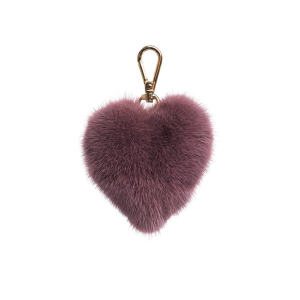 MINK HEART DUSTY GRAPE