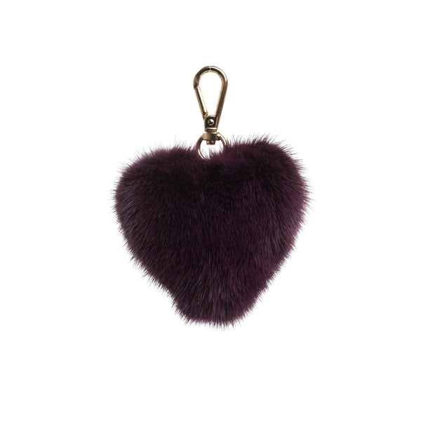 MINK HEART RICH PLUM