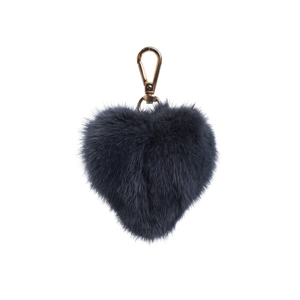 MINK HEART STONE BLUE