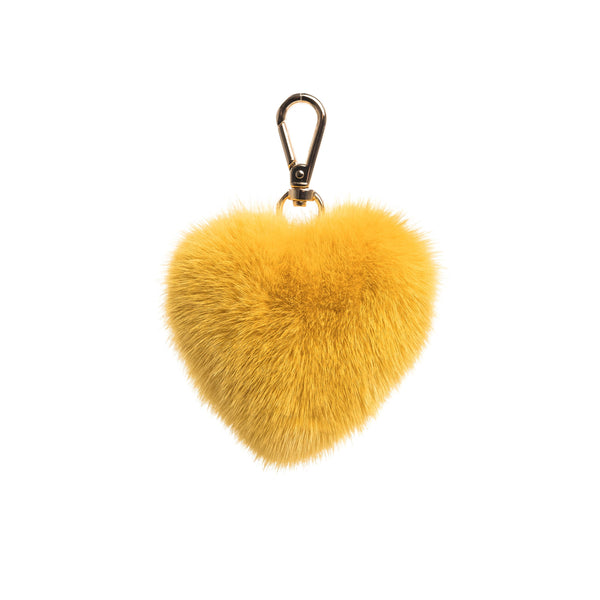 MINK HEART YELLOW