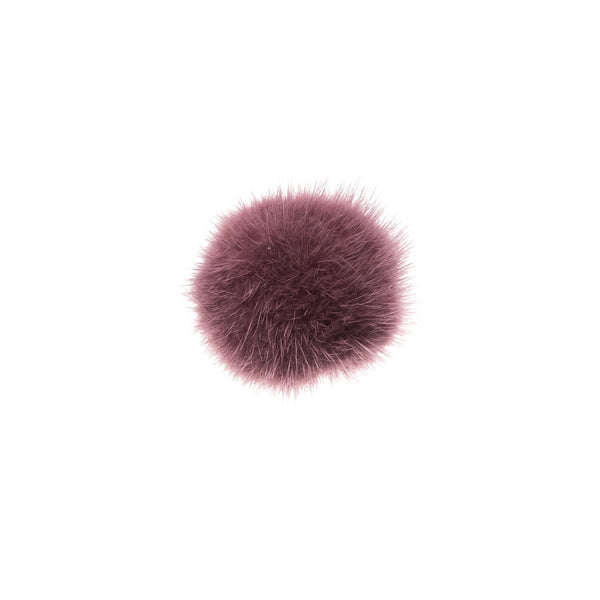 SHOE POM POM DUSTY GRAPE SMALL