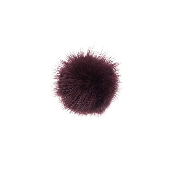 SHOE POM POM RICH PLUM SMALL