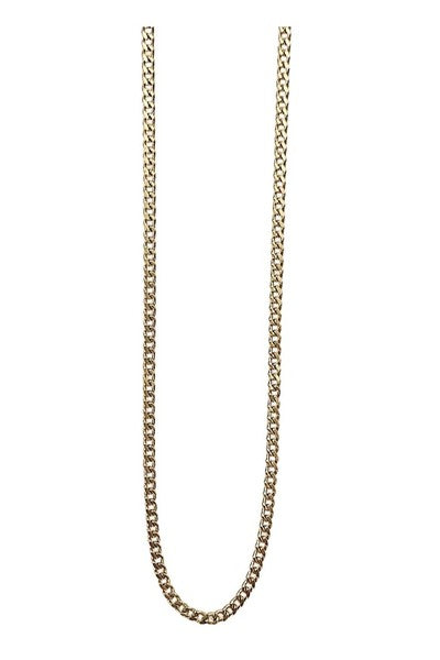 PLAIN CHAIN NECKLACE GOLD