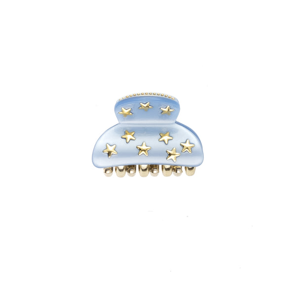 STAR STUD HAIR CLAW SMALL 501 BLUE