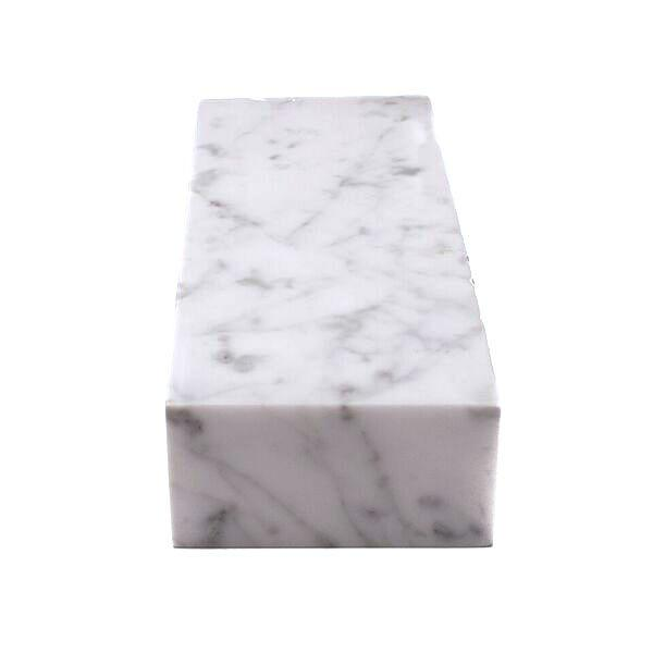 MARBLE CUBE L WHITE