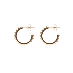 STUD HOOP SMALL GOLD