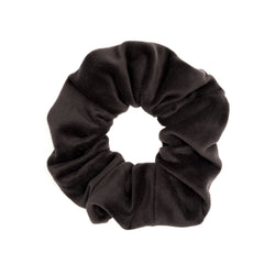 VELVET SCRUNCHIE GREY