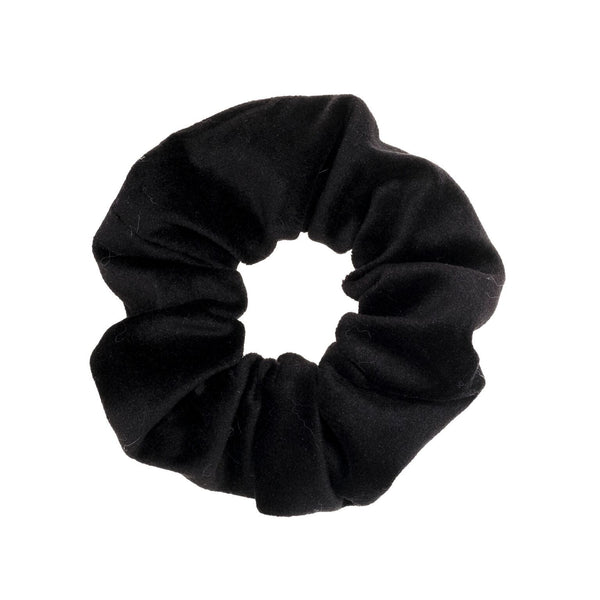 VELVET SCRUNCHIE BLACK