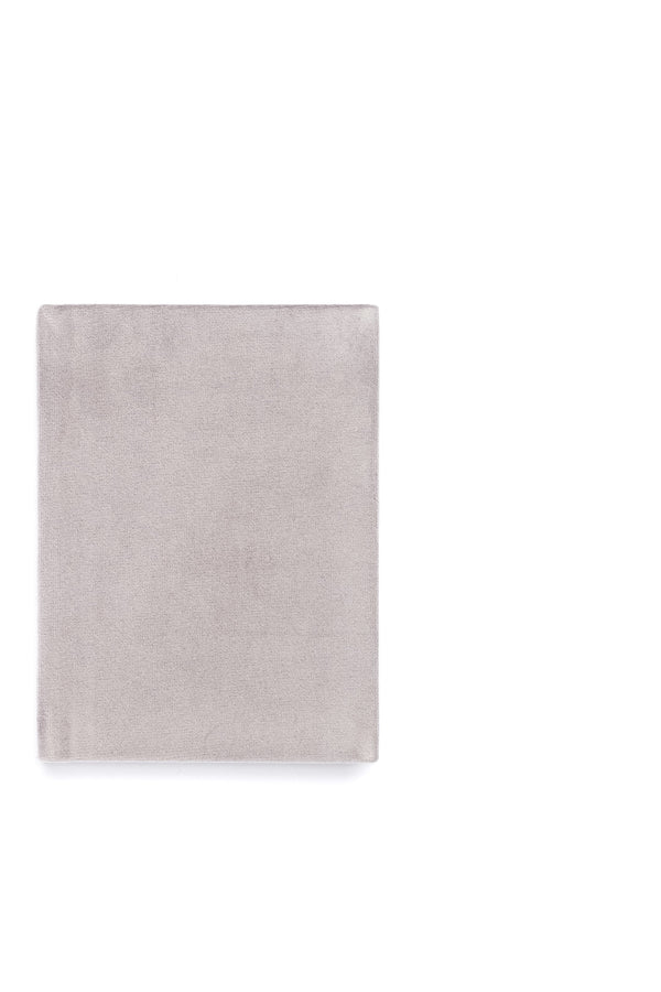 VELVET NOTEBOOK ELEPHANT GREY S
