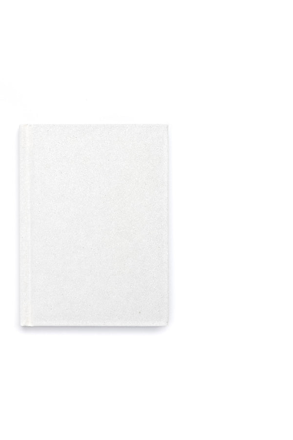 GLITTER NOTEBOOK WHITE S