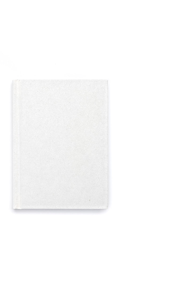 GLITTER NOTEBOOK A6 WHITE