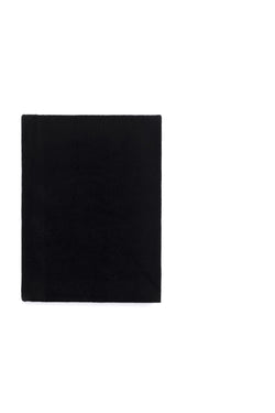 VELVET NOTEBOOK BLACK S