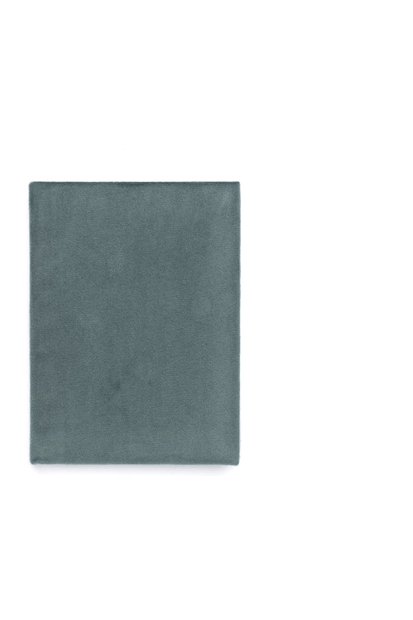 VELVET NOTEBOOK TEAL S