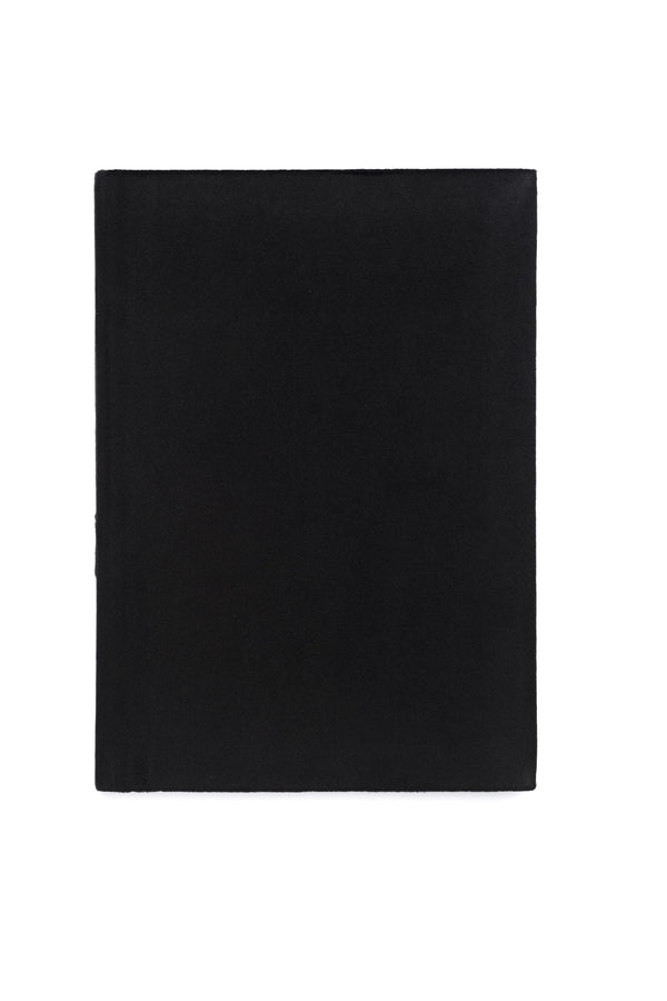 VELVET NOTEBOOK BLACK M