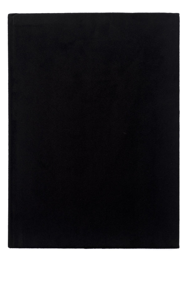 VELVET NOTEBOOK BLACK L