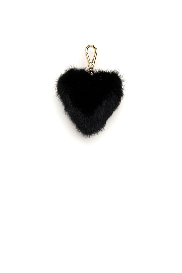 MINK HEART BLACK