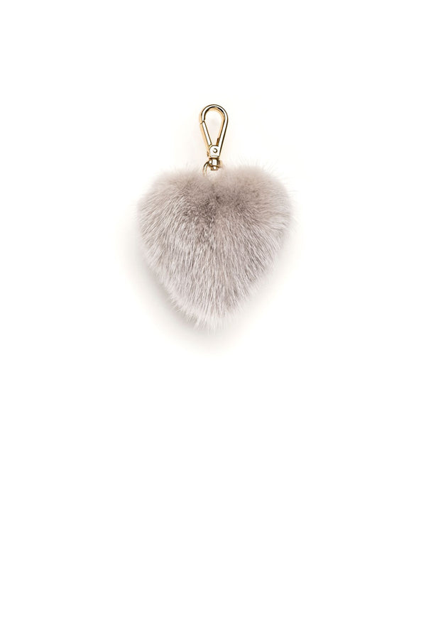 MINK HEART LIGHT GREY