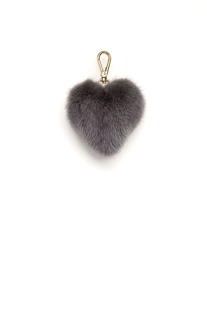 MINK HEART GREY