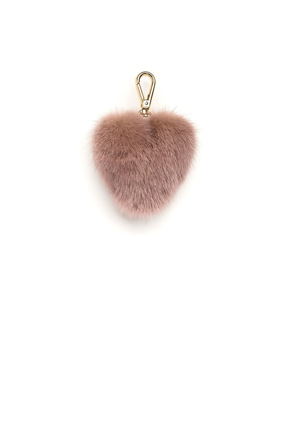 MINK HEART VINTAGE ROSE