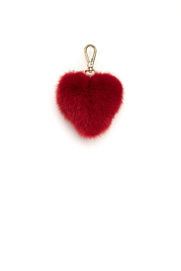 MINK HEART RED