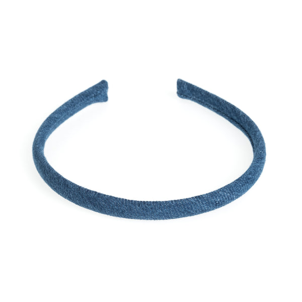 HAIR BAND THIN DENIM