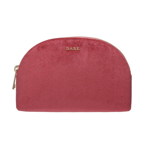 VELVET MAKE-UP POUCH CANDY PINK