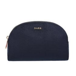 VELVET MAKE-UP POUCH NAVY BLUE