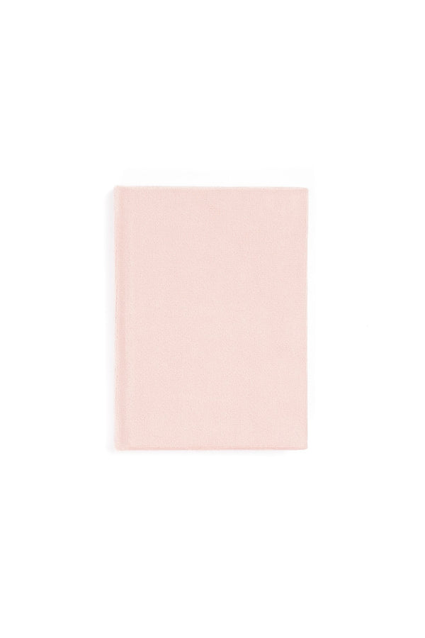 VELVET NOTEBOOK PALE ROSE S
