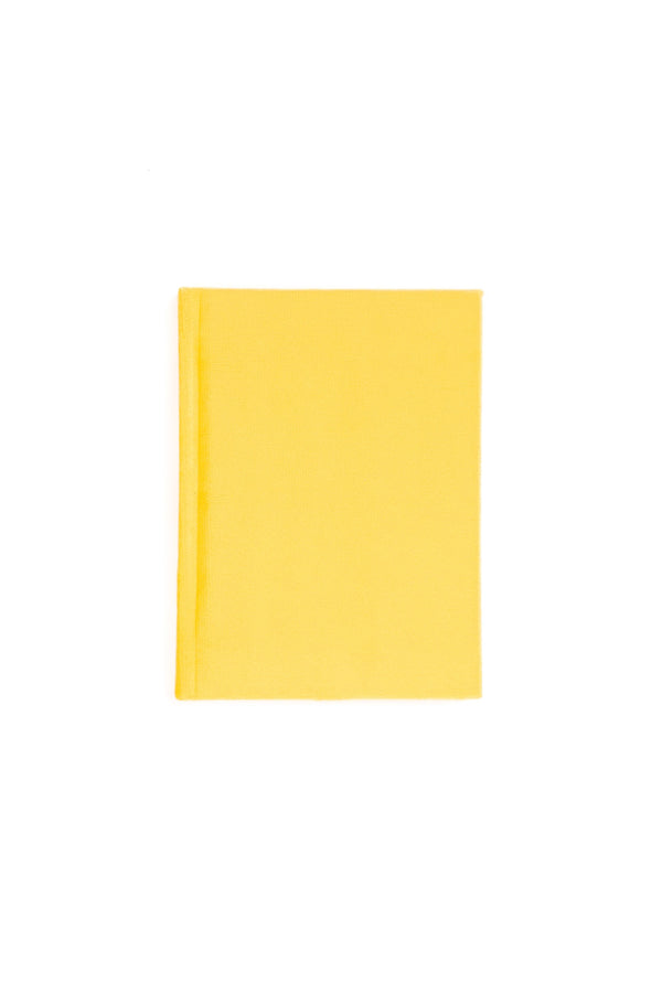 VELVET NOTEBOOK SUN YELLOW S