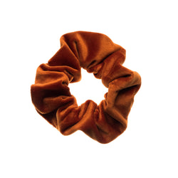 VELVET SCRUNCHIE COPPER