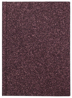 GLITTER NOTEBOOK A6 WINE