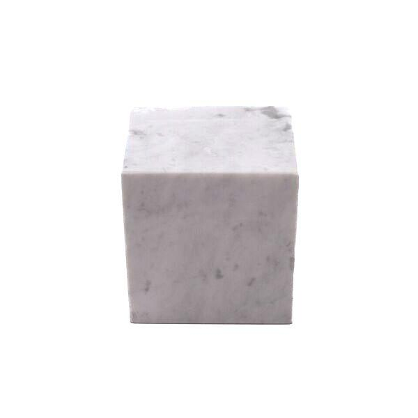 MARBLE CUBE WHITE S