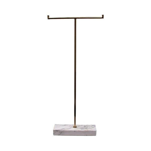 MARBLE STAND HIGH WHITE