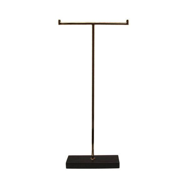 MARBLE STAND HIGH BLACK