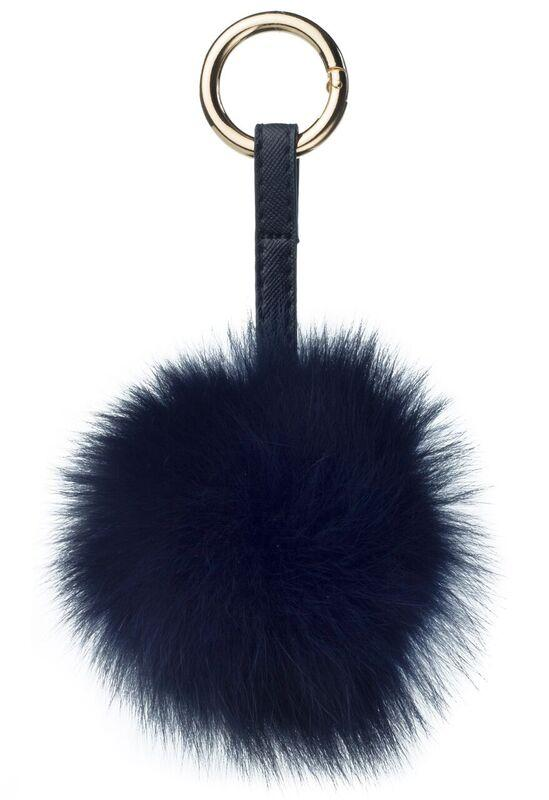 POM POM FOX NAVY BLUE