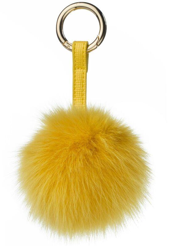 POM POM FOX YELLOW